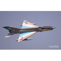 Freewing Mig-21 Blue 80mm EDF Jet